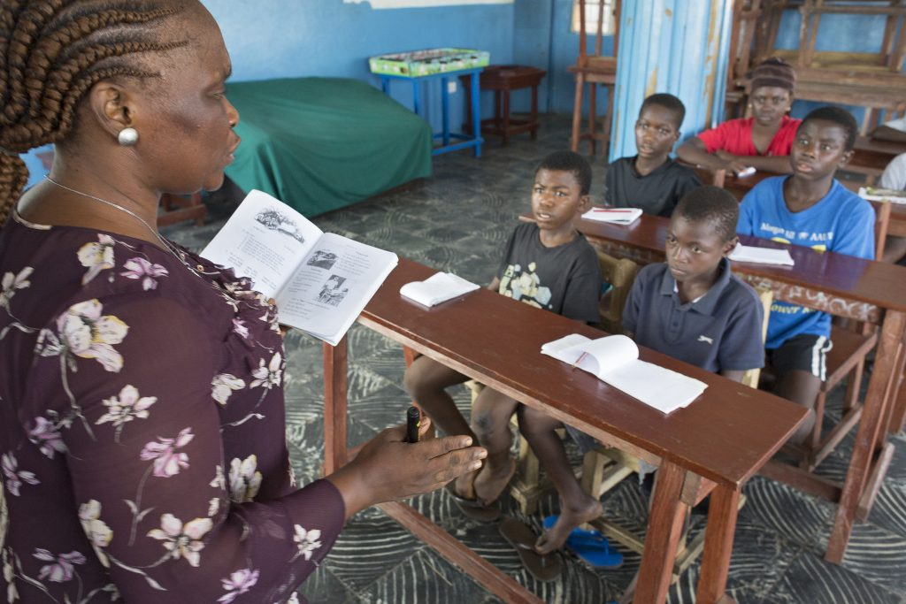 "Straßenkinderprojekt ""Pikin Paddy"" in Freetown"