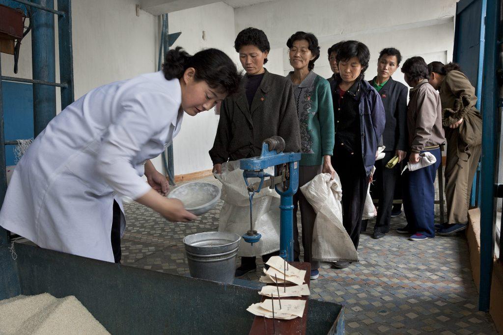 Ein Land hungert-Nothilfe für Nord-Korea.