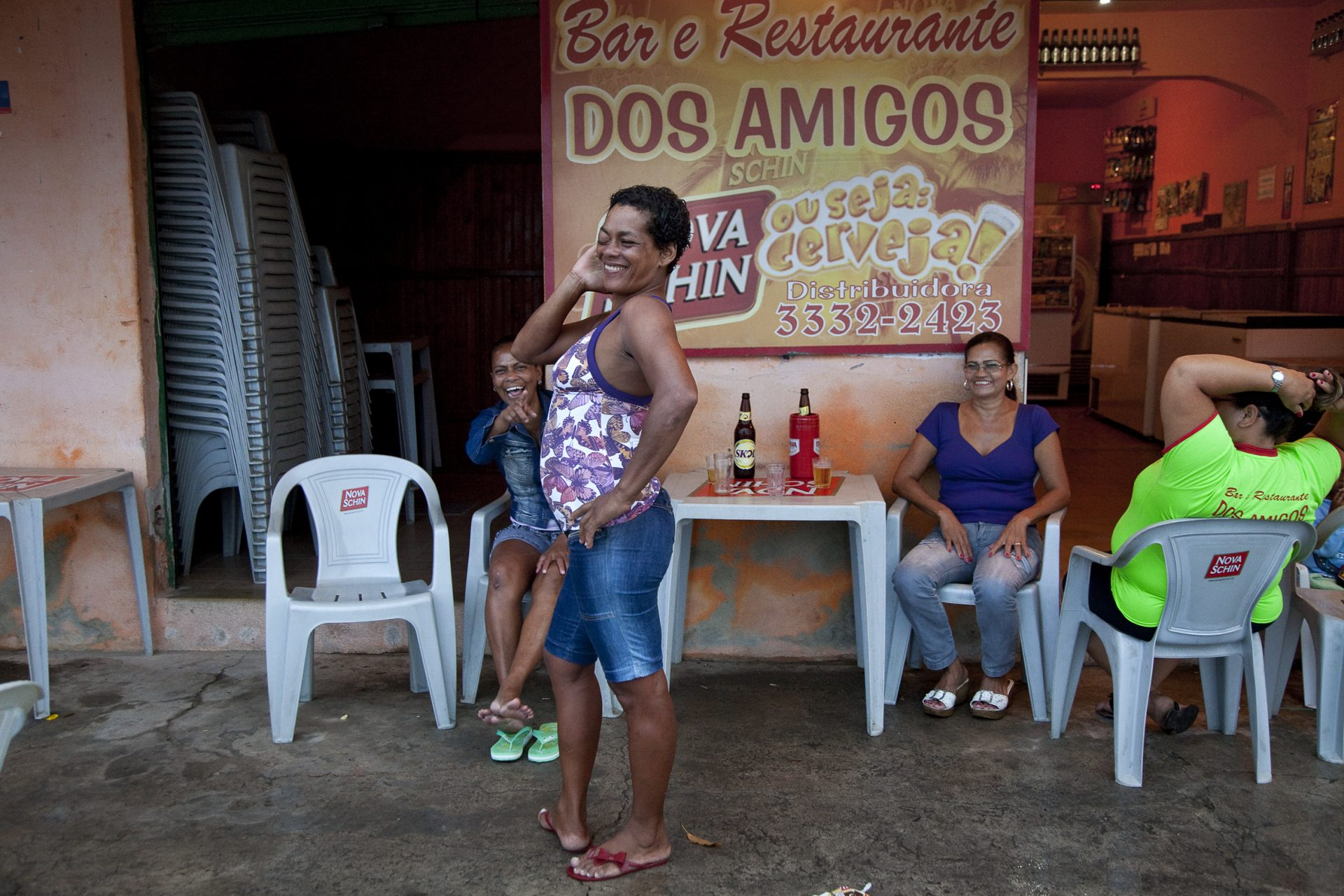 Prostituierte im Hafenviertel von Vitória.